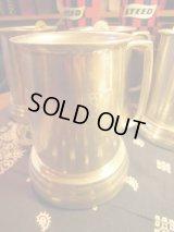 Vintage Playboy Tin Glass bottom Tankards standard mugs