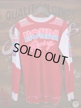 HONDA RACING VINTAGE MOTOCROSS SHIRT MADE IN USA L