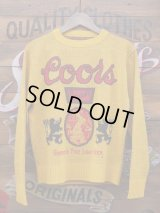 COORS BEER VTG SWEATER SMALL MADE IN USA