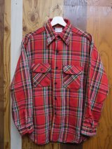 5 BROTHER VTG COTTON FLANNEL SHIRT MADE IN USA XL