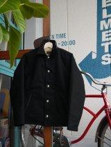 sixhelmets duck×boa deck jacket concho special black