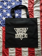 GENT-X ICON TOTE BAG BLACK