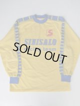SINISALO RACING TEAM VINTAGE MOTOCROSS SHIRT YELLOW L
