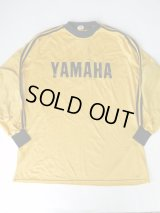 VIKING YAMAHA VINTAGE MOTOCROSS SHIRT YELLOW×BLACK XL