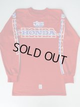 HONDA JT RACING USA VINTAGE MOTOCROSS SHIRT RED S
