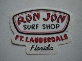 RON JON SURF SHOP STICKER DECAL