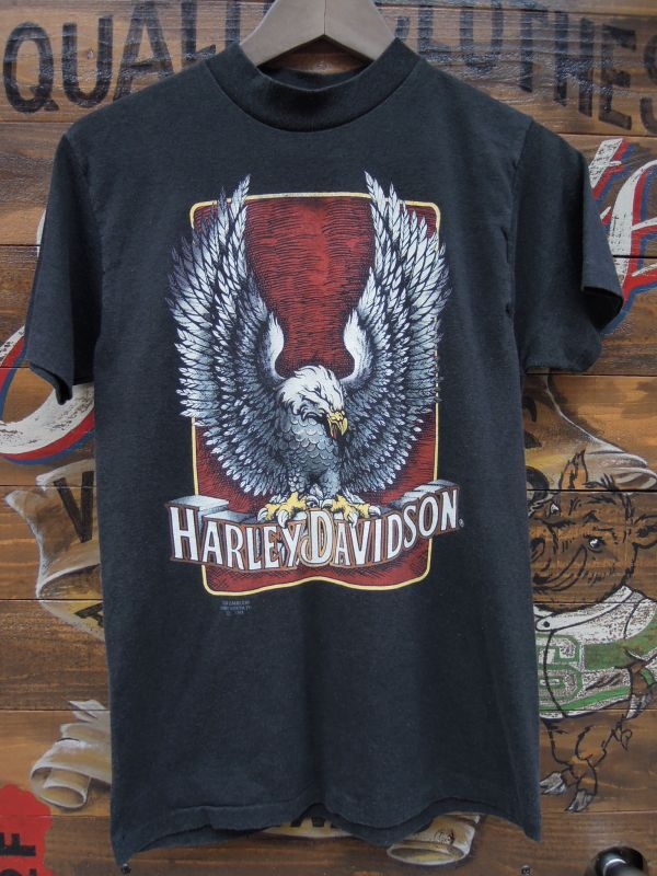 Harley Davidson Vintage Eagle Logo T Shirt Sixhelmets