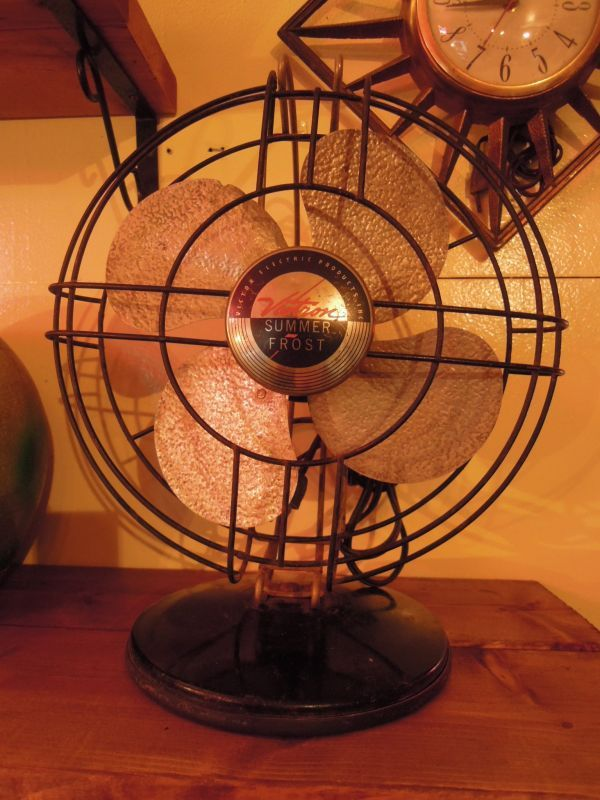 Vintage Victron Summer Frost Electric Fan By Victor