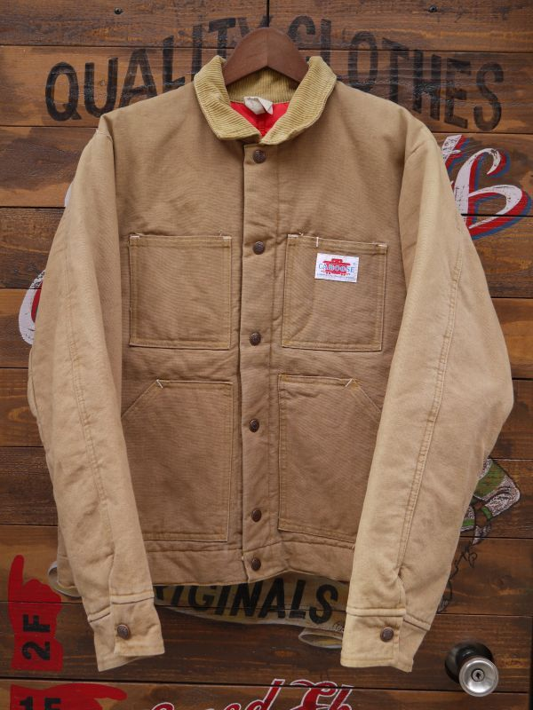 Caboose Vtg Duck Work Jacket Made In Usa Sixhelmets