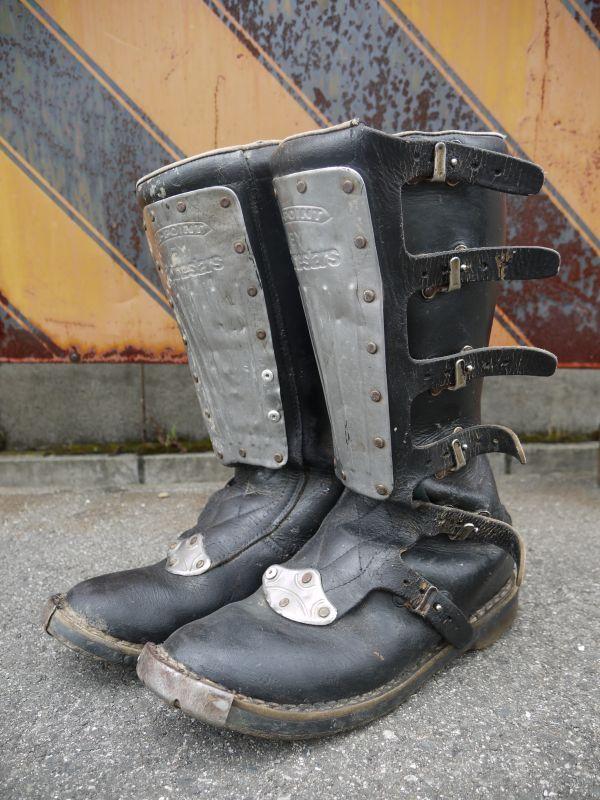 Alpinestars Hi Point Vintage Motocross Boots Sixhelmets