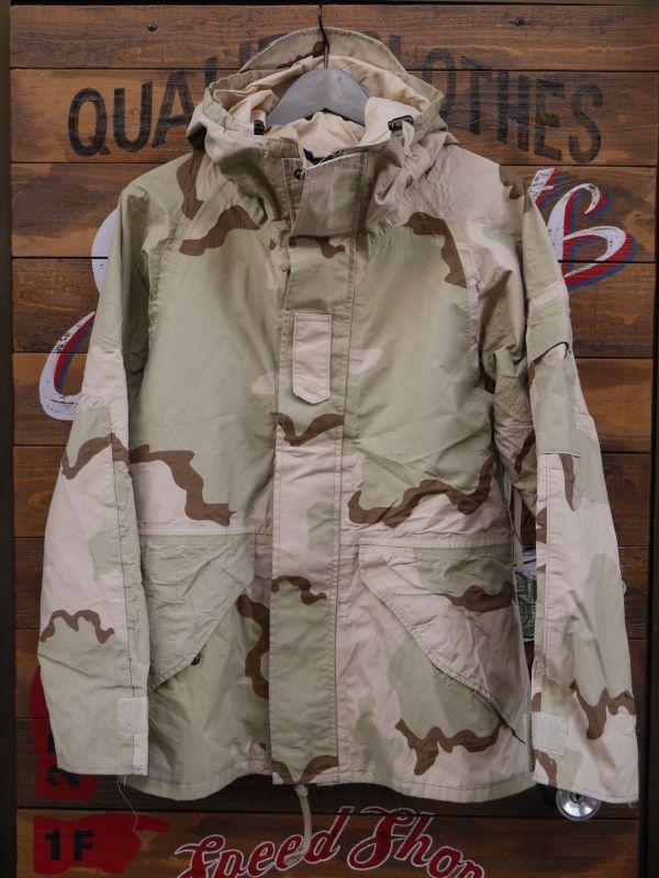 Us Army Ecwcs Goretex Parka Desert Camo Small Short