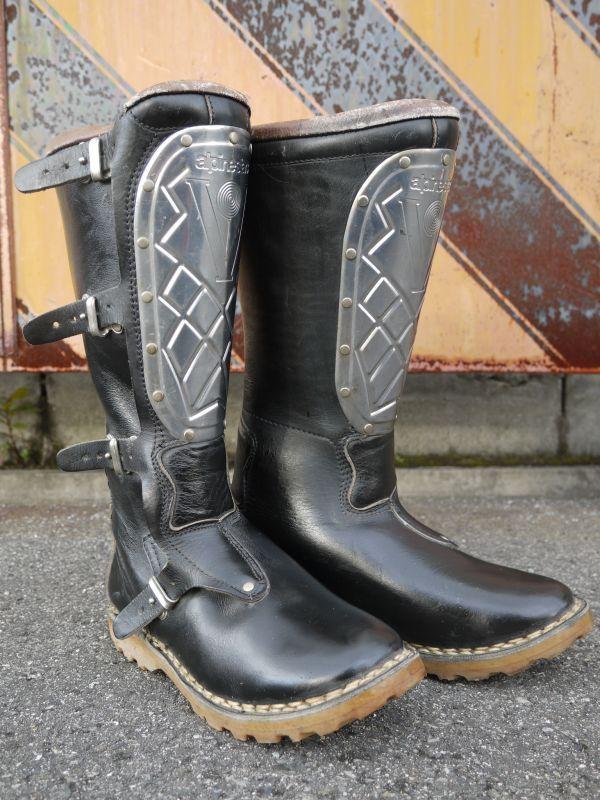 Alpinestars Super Victory Vintage Motocross Boots Black 39