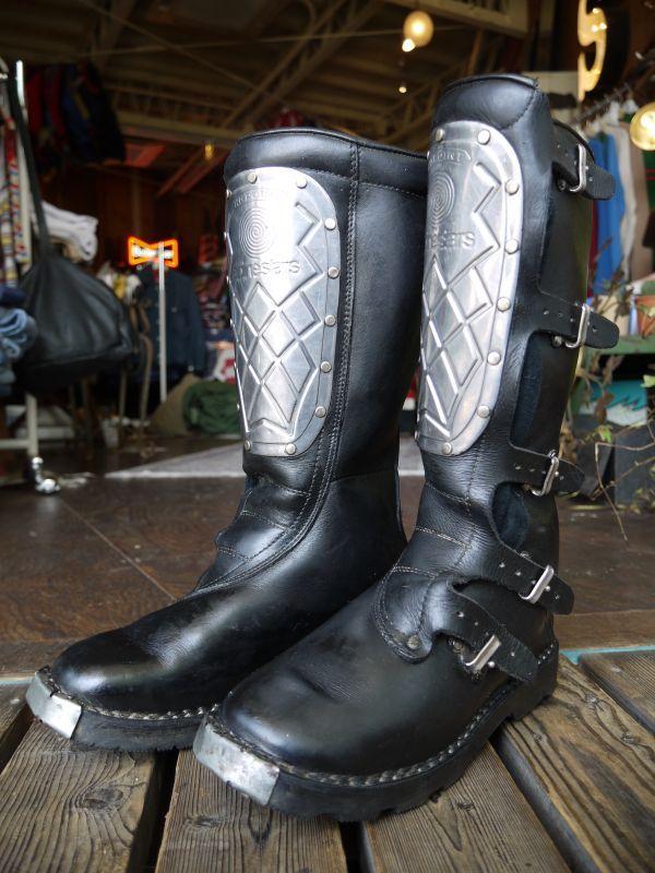 Alpinestars Hi Point Vintage Motocross Boots Black 25 5cm