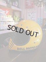 BELL MOTO-III VINTAGE MOORCYCLE FULLFACE YELLOW SM