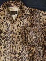 sixhelmets leopard fake fur shirt(2)