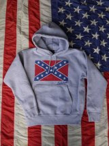 sixhelmets rebel flag sweat parka gray 15.6oz