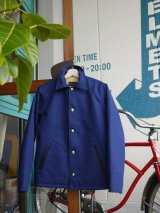 sixhelmets duck×boa deck jacket concho special navy blue