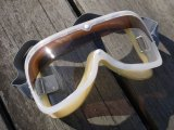 NOS USA VINTAGE MOTORCYCLE GOGGLE CLEAR