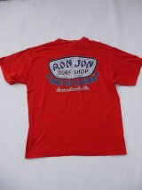 RONJON SURF SHOP VTG T-SHIRT LARGE RED