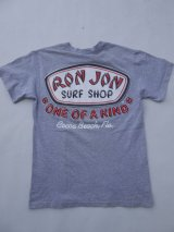 RONJON SURF SHOP VTG T-SHIRT SMALL GRAY