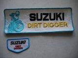SUZUKI DIRT DIGGER VINTAGE BIG PATCH