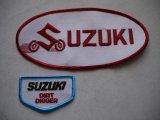 SUZUKI VINTAGE BIG PATCH WHITE
