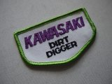 KAWASAKI DIRT GIGGER VINTAGE PATCH