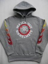 WATCH OUT SIXHELMETS HOODIE GRAY