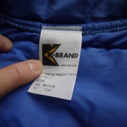 画像2: K-BRAND VTG PUFFY VEST BLUE M