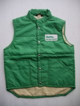SWINGSTER HEFTY TOUGH ENOUGH TO OVERSTUFF VTG PUFFY VEST GREEN M