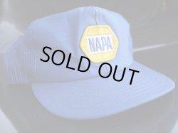 画像1: NAPA AUTO PARTS VTG MESH CAP BLUE