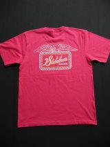 SIXHELMETS RACING CHECKER T-SHIRT TROPICAL PINK