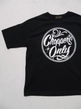 SIXHELMETS CHOPPERS ONLY OVER SIZE POCKETT-SHIRT BLACK