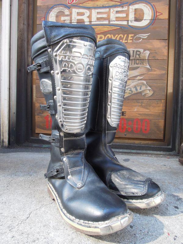 Vintage Alpinestars Hi Point Pro Gp Motocross Boots