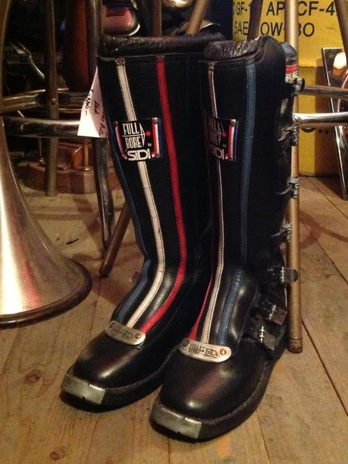 Sidi Vintage Motocross Boots Full Bore Made In Italy