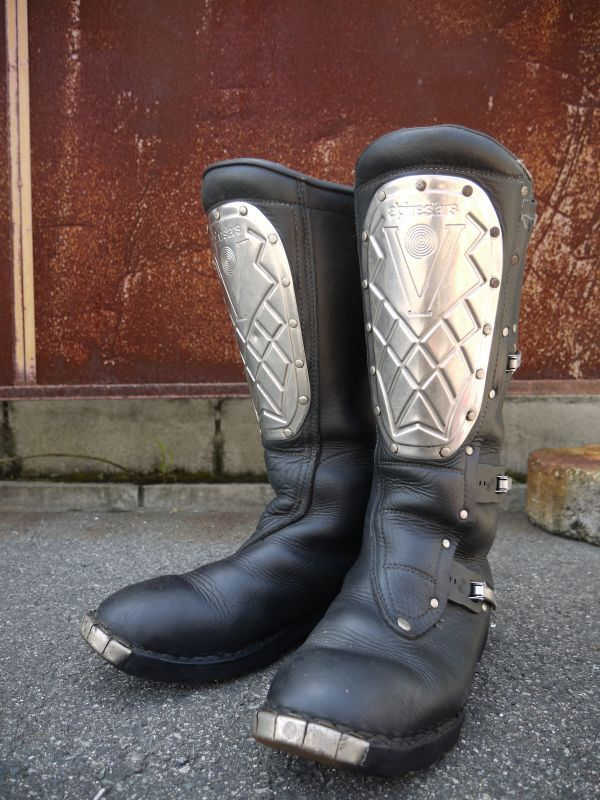 Alpinestars Supervictory Vintage Motocross Boots Black 44