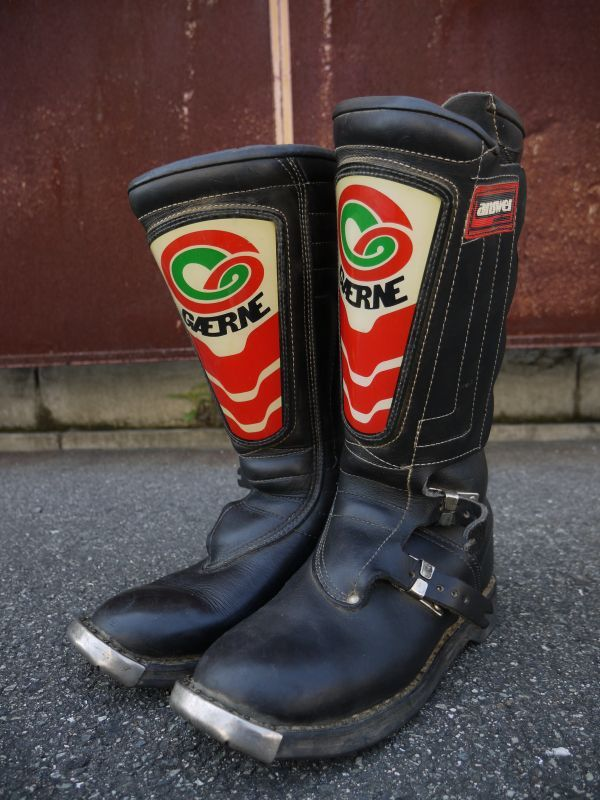 Gaerne Answer Products Vintage Motocross Boots Black 9