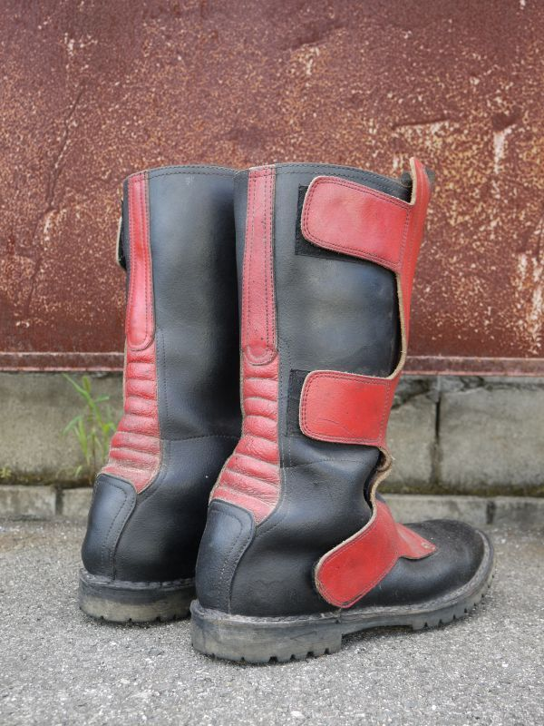 Sidi Vintage Motocross Boots Black 215 Red 27cm Sixhelmets