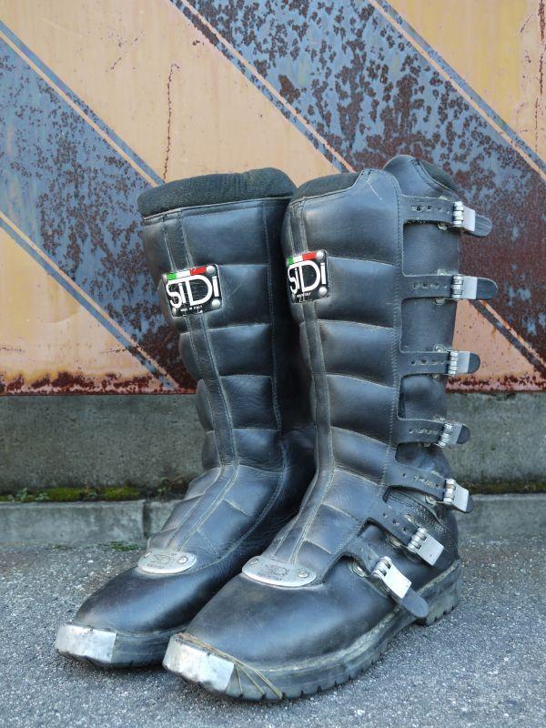 Sidi Joel Robert Vtg Motocross Boots 44 27 5cm